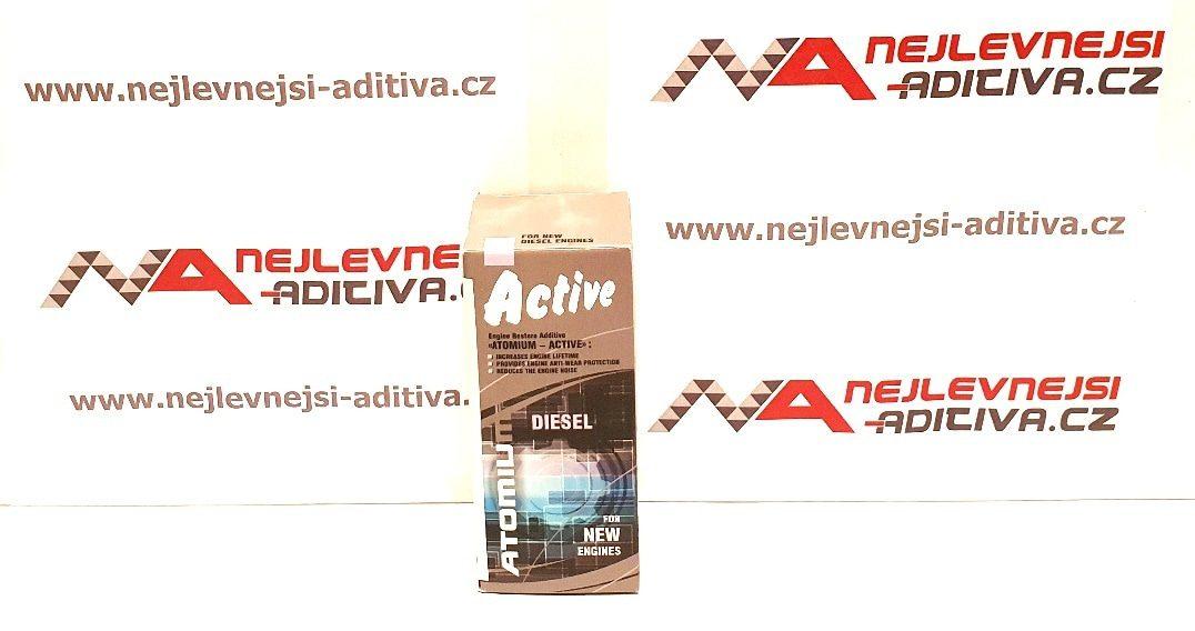 ATOMIUM Active Diesel 90 ml - stará grafika