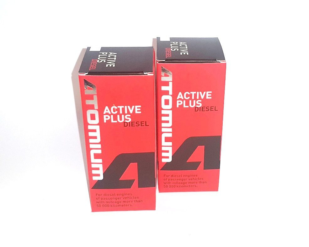 2x ATOMIUM Active Diesel Plus 90 ml