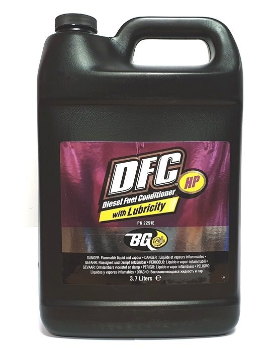 BG 2251 DFC HP - DIESEL FUEL CONDITIONER W/DPL 3,7L