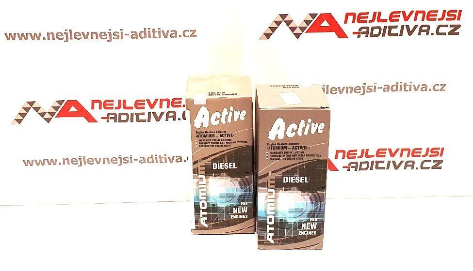 2x ATOMIUM Active Diesel 90 ml - stará grafika