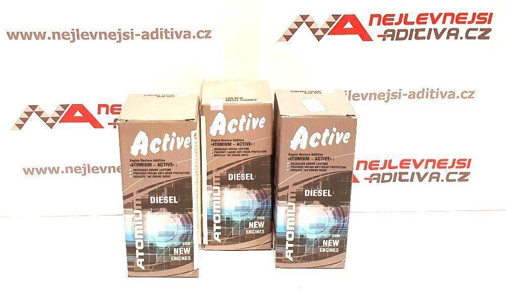 3x ATOMIUM Active Diesel 90 ml - stará grafika