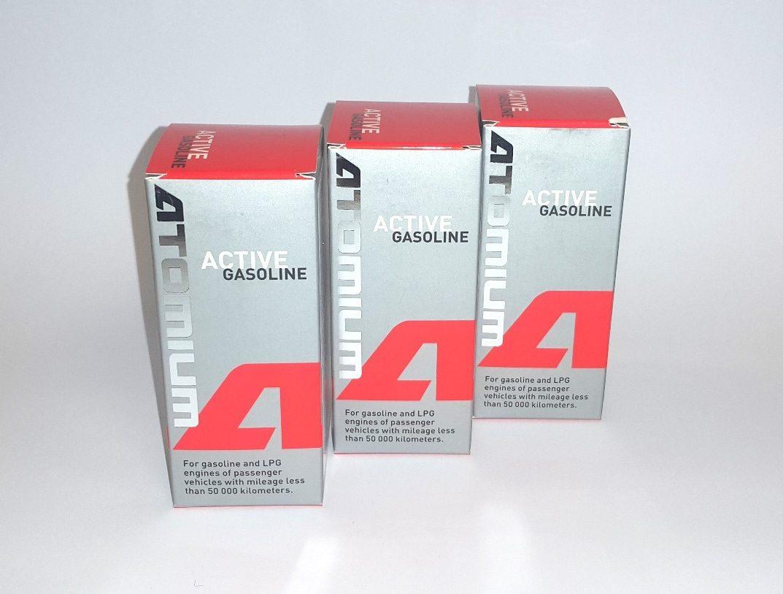 3x ATOMIUM Active Gasoline 90 ml + ZDARMA ATOMIUM Active Regular 100 ml