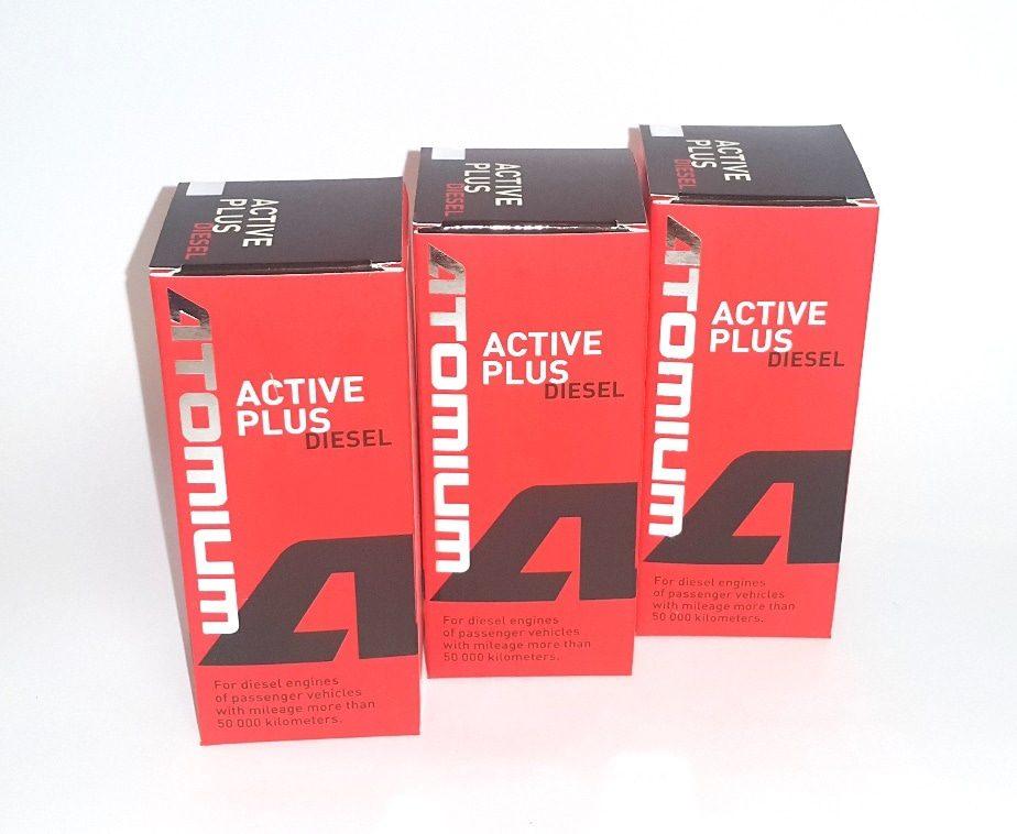 3x ATOMIUM Active Diesel Plus 90 ml + ZDARMA ATOMIUM Active Regular 100 ml
