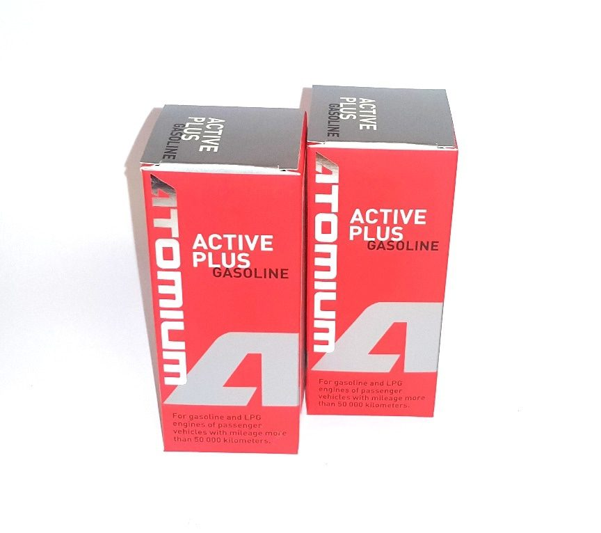 2x ATOMIUM Active Gasoline Plus 90 ml