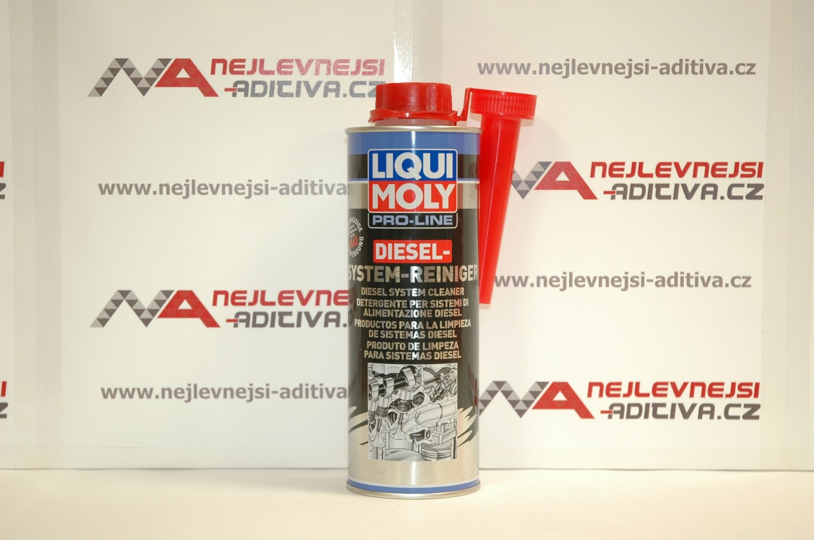 LIQUI MOLY 5156 Pro-Line Čistič dieselových systémů 500 ml