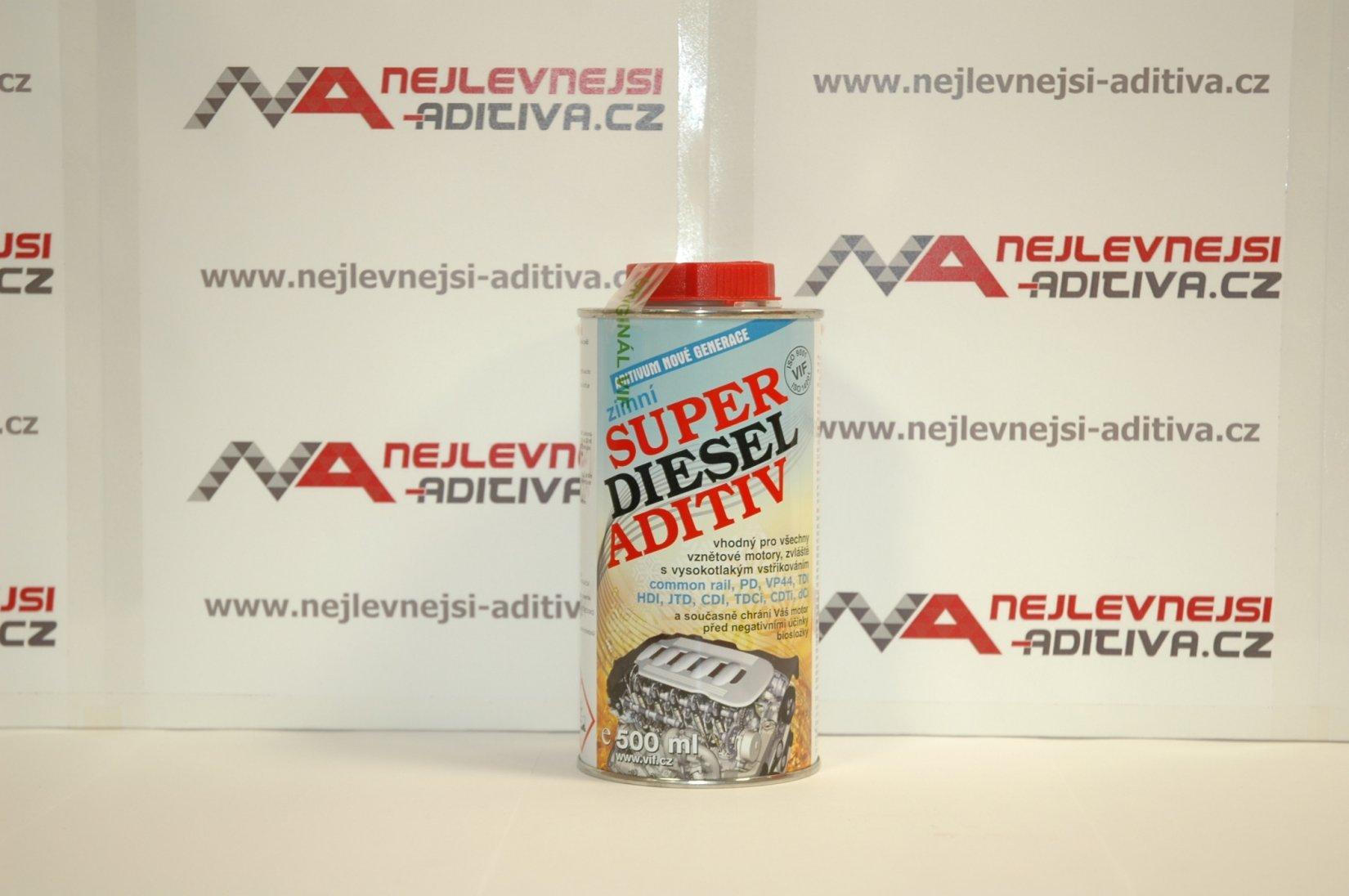 VIF Super Diesel Aditiv zimní 500ml