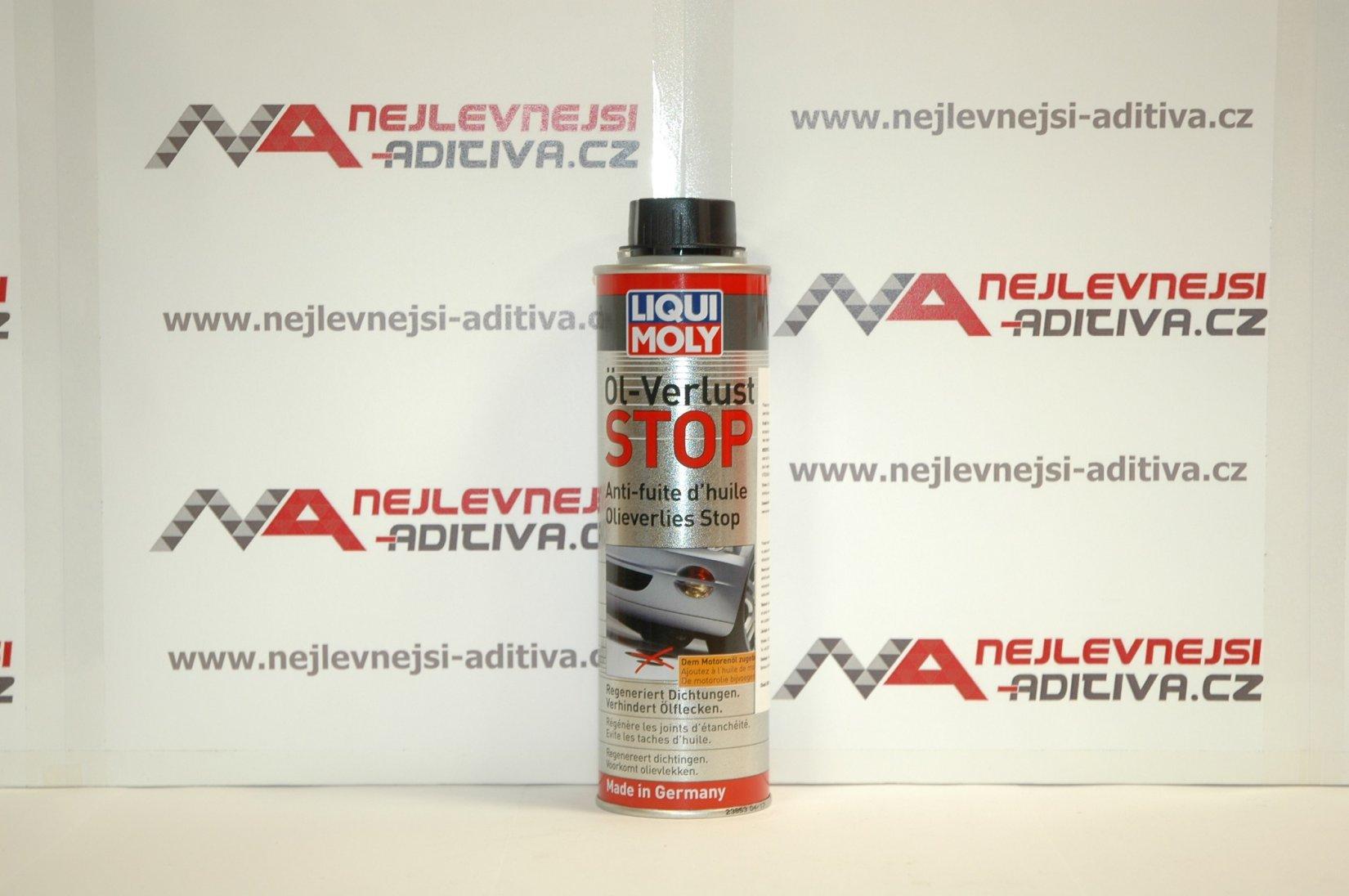 Liqui Moly 1005 Stop ztrátám oleje 300 ml