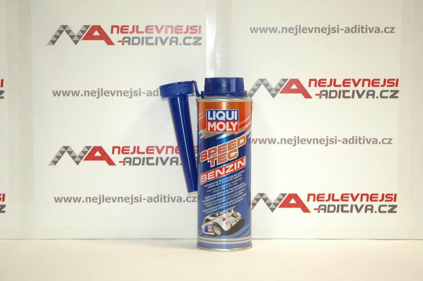 LIQUI MOLY 3720 Přísada do benzinu pro zlepšení zrychlení 250 ml