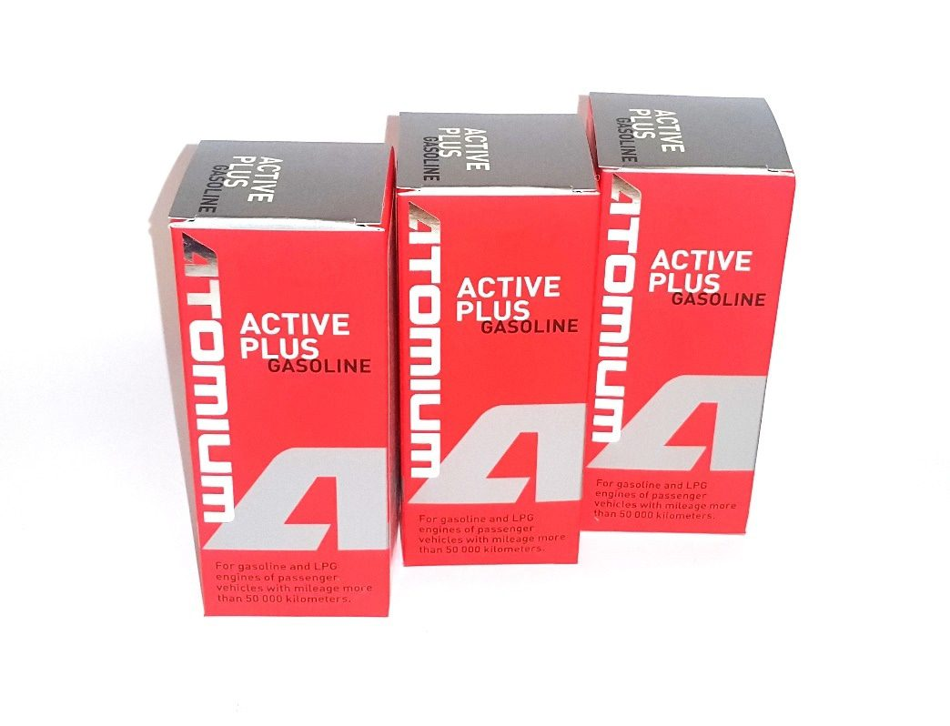 3x ATOMIUM Active Gasoline Plus 90 ml + ZDARMA ATOMIUM Active Regular 100 ml